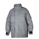 4405 Quilted Waterproof Coat