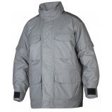 4405 Light Grey Wind and Waterproof Padded Parka